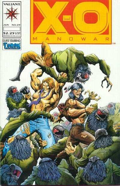 X-O Manowar (1992 series) #29, NM (Stock photo)
