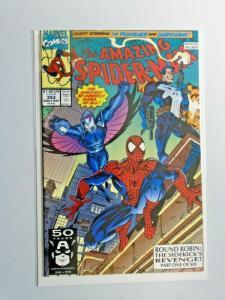Amazing Spider-Man #353 Punisher 1st Series 8.5 VF+ (1991)