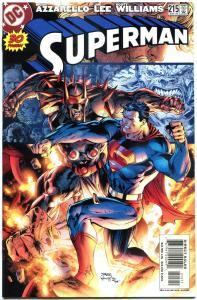 SUPERMAN #215, NM, Jim Lee, Brian Azzarello, 1987, more DC & SM in store