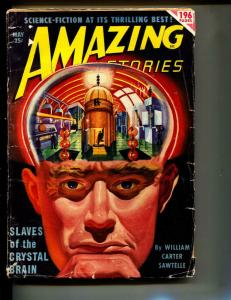 Amazing Stories-Pulp-5/1950-William Carter Sawtelle-Kris Neville