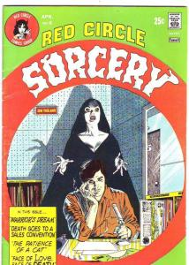 Red Circle Sorcery #6 (Apr-74) FN/VF Mid-High-Grade