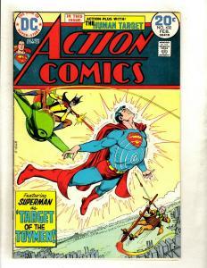 Lot Of 6 Action Comics Feat. Superman # 432 433 440 441 442 443 Batman Flash GK5