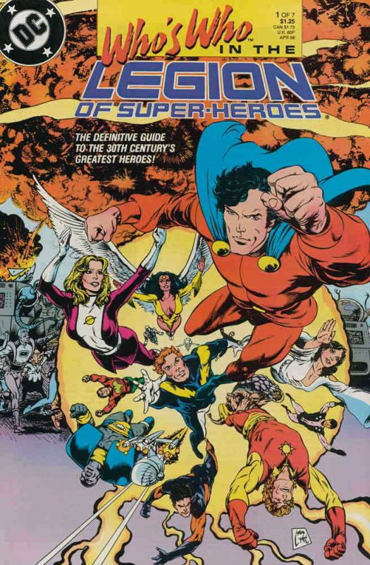 Who's Who in the Legion of Super-Heroes #1 FN; DC | save on shipping - details i