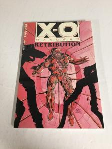X-O Manowar Retubution Tpb Nm Near Mint Valiant Comics