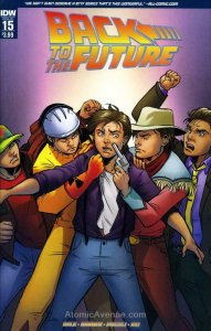 Back To The Future (IDW) #15 VF/NM; IDW | save on shipping - details inside