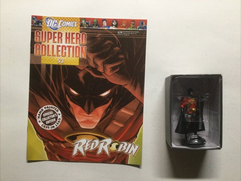 Red Robin 53 Super Hero Collection Lead Figure and Magazine Dc Eaglemoss