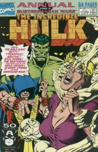 Incredible Hulk (1968 series) Annual #17, NM- (Stock photo)