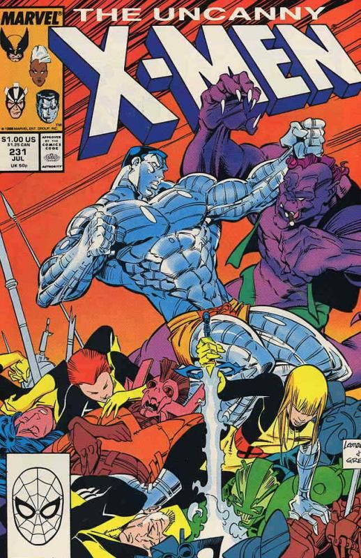 Uncanny X-Men, The #231 VF/NM; Marvel | save on shipping - details inside