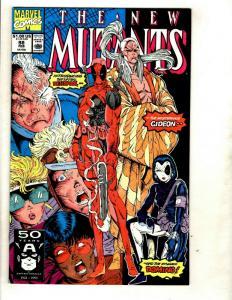 New Mutants # 98 NM-/NM Marvel Comic Book 1st Deadpool Appearance X-Men KEY GK1