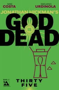 God is Dead #35, NM (Stock photo)
