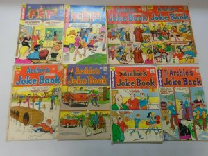 Bronze age Archie PEP + Mad House comic lot 29 different avg 4.0 VG