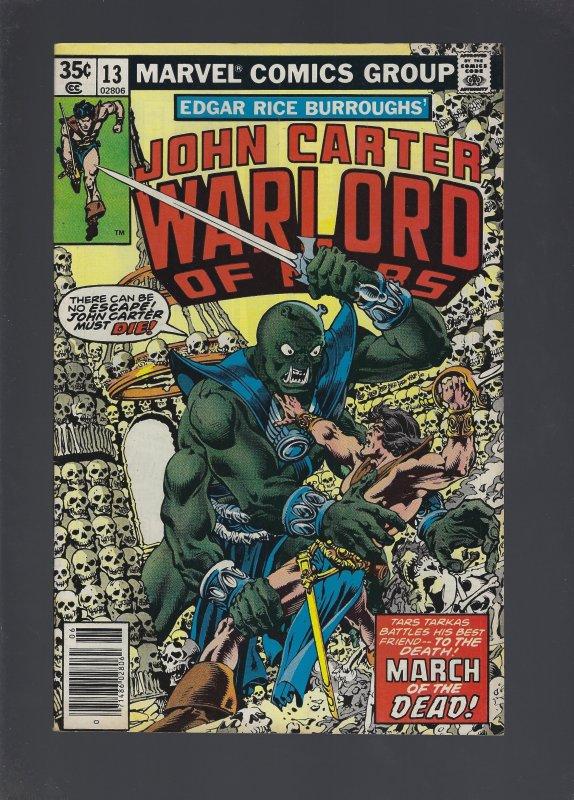 John Carter Warlord of Mars #13 (1978)