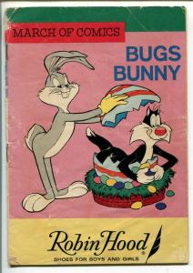 MARCH OF COMICS #287 1966-K.K. PUBS-BUGS BUNNY-EASTER EGG COVER-SYLVESTER-good