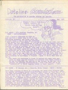 Dateline Comicdom #22 3/1967-Robert Klein-newsletter-comic collector info-FN