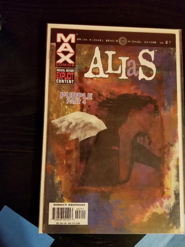 ALIAS #24-28 (MARVEL/1st APP KILLGRAVE/JESSICA JONES/101545) COMPLETE SET OF 5