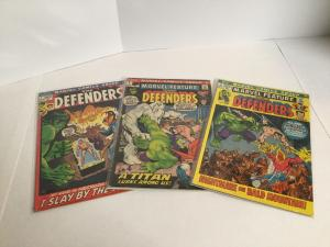 Defenders 1-113 Marvel Feature 2 3 Giant Size 5 Near Complete Lot A40
