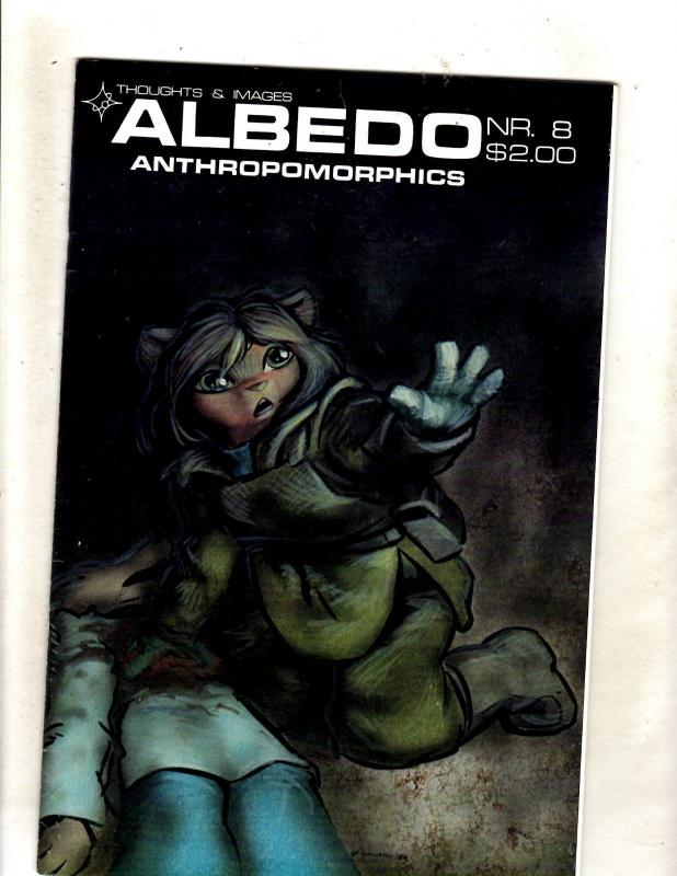 Albedo # 8 NM Thoughts & Images Anthropomorphics Comic Book JF15