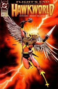 Hawkworld (1990 series) #32, NM- (Stock photo)