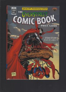 OVERSTREET COMIC BOOK PRICE GUIDE 2020-2021 Volume 50 MSRP 29.99 Softcover
