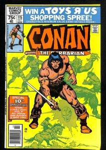 Conan the Barbarian #115 (1980)