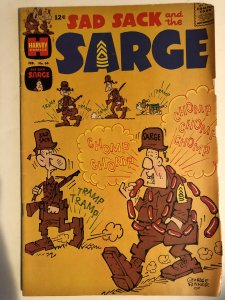 Sad sack and the sarge#66,VG, baker art