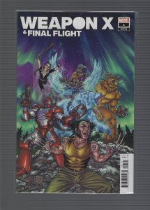 Weapon X & Final Flight #1