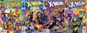 X MEN LIBERATORS (1998) 1-4 Wolverine & co vs Omega Red