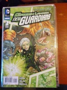 Green Lantern: New Guardians Annual #1 (2013)