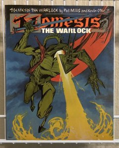 Nemesis The Warlock Book Two TITAN BOOKS Oversized Softcover Graphic Novel