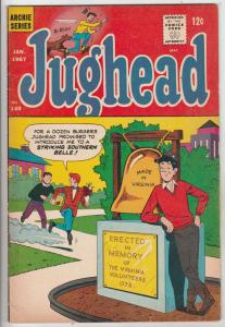 Jughead, Archie's Pal #140 (Jan-67) VF- High-Grade Archie, Betty, Veronica, R...