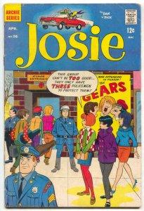 Josie #26 1967- Archie Silver Age Comic- Gears G