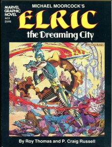 ELRIC / MARVEL Graphic Novel #2, TPB, 1st, VF+, 1982, Dreaming City, Moorcock