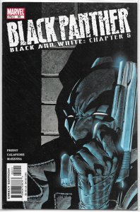 Black Panther   vol. 3   #55 VF (Black and White 5)