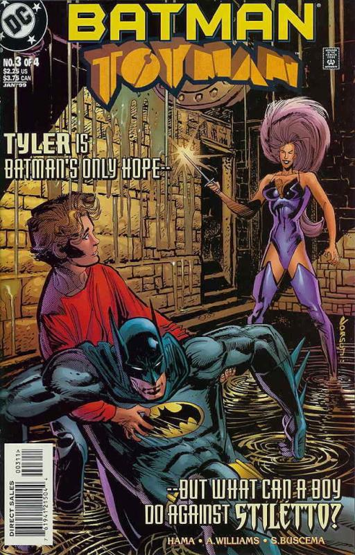 Batman: Toyman #3 VF/NM; DC | combined shipping available - details inside