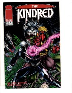 Lot Of 7 Image Comic Books Kindred 1 2 3 Union 1 Violator 1 Extreme New Men J295