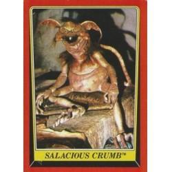 1983 Topps RETURN OF THE JEDI - SALACIOUS CRUMB #16