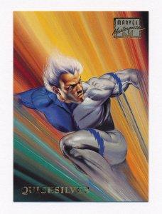 1996 Marvel Masterpieces #37 Quicksilver