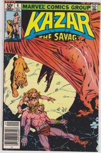 Ka-Zar Savage #6