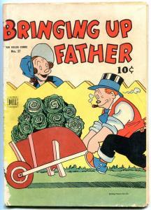 Bringing Up Father-Four Color Comics #37-1944- Dell comics VG-