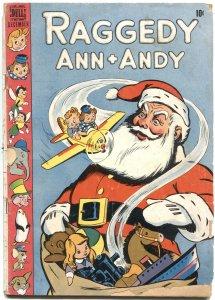 RAGGEDY ANN + ANDY #31-1948-CHRISTMAS ISSUE-WALT KELLY ART---DELL