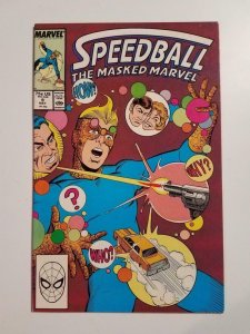SPEEDBALL THE MASKED MARVEL #9, VF/NM, Steve Ditko, Marvel, 1988 1989