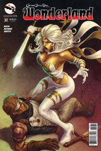 Grimm Fairy Tales presents Wonderland #32, NM + (Stock photo)