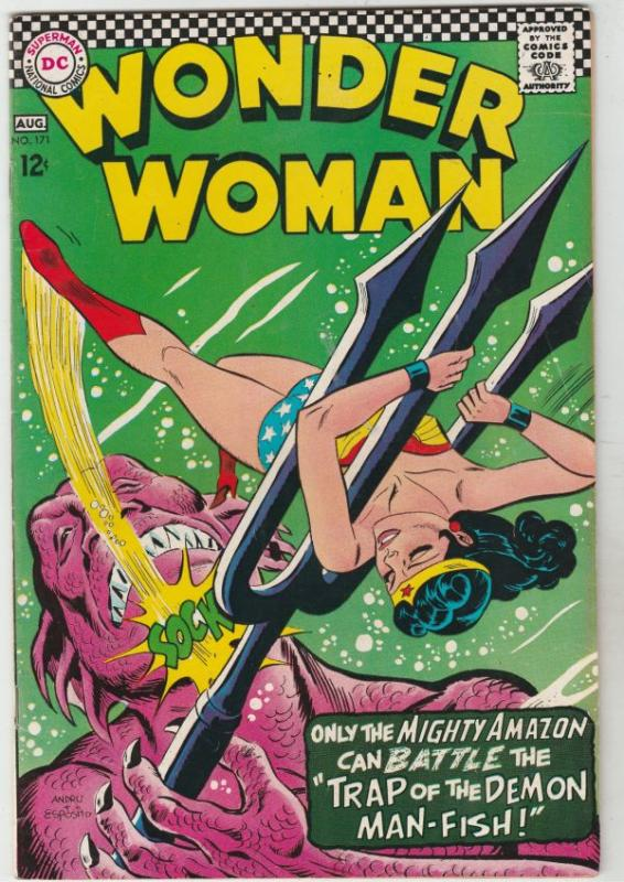 Wonder Woman #171 (Aug-67) VF+ High-Grade Wonder Woman