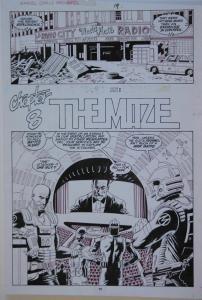 PAUL GULACY original art, MARVEL COMICS PRESENTS #33 pg 19, 11x16, Coldblood