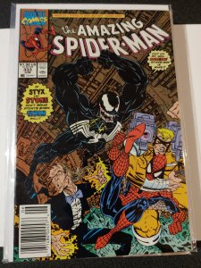 THE AMAZING SPIDER-MAN #333 VENOM NM