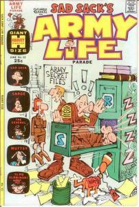 SAD SACKS ARMY LIFE (1963-1976) 52 VF-NM June 1974 COMICS BOOK