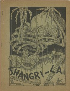 SHANGRI-LA #17 (LASFS Fanzine, 1950) Rare Zine! Kaiser collection!