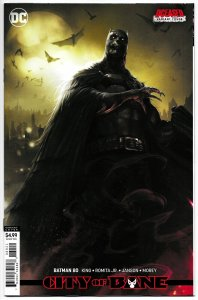 Batman #80 Mattina DCeased Card Stock Variant (DC, 2019) NM