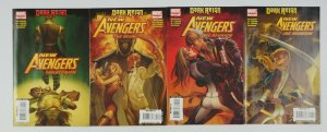 New Avengers: the Reunion #1-4 VF/NM complete series - hawkeye mockingbird set