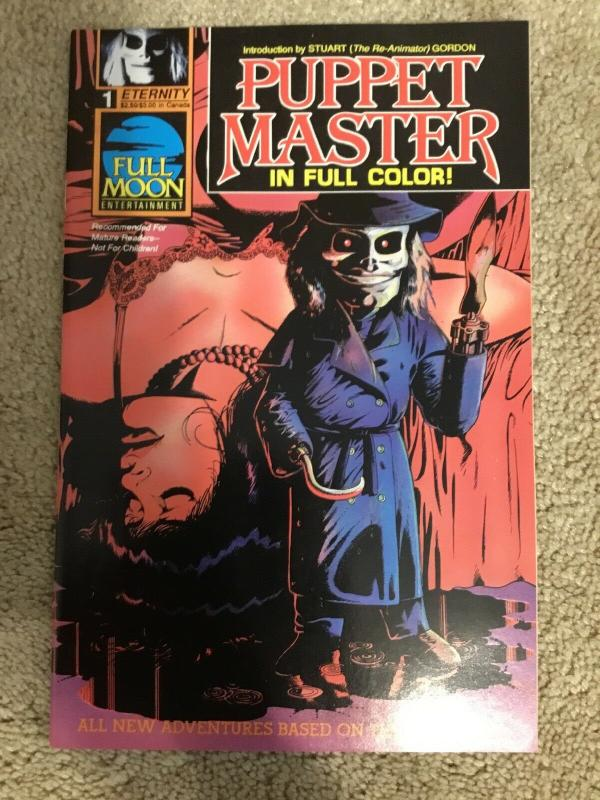 Eternity Puppet Master 1 Comic * VF/NM